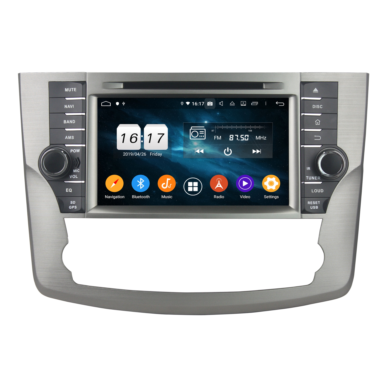 "KLYDE 8 ""2 Din 8 Core Android 9,0 reproductor Multimedia para coche Toyota Valon 2011-2012 reproductor de DVD para coche Radio Estéreo 1024*600 Audio"