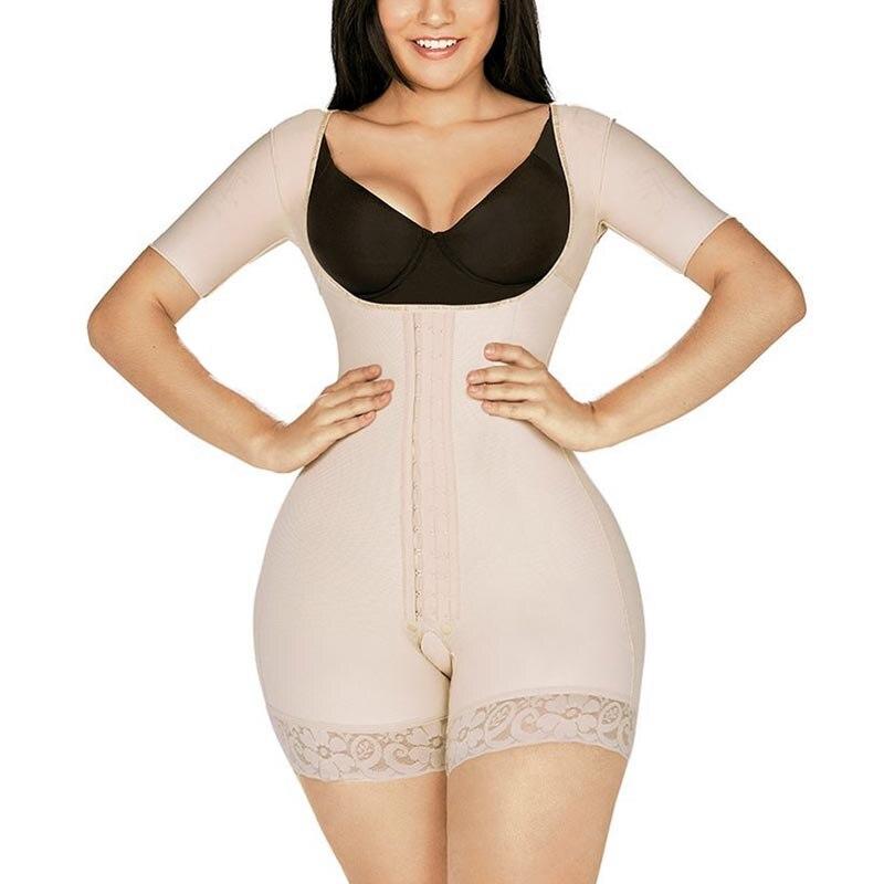 Women Push Up Bodysuit Postpartum Seamless bbl post op surgery supplies faja colombiana compression mujer skims kim kardashian