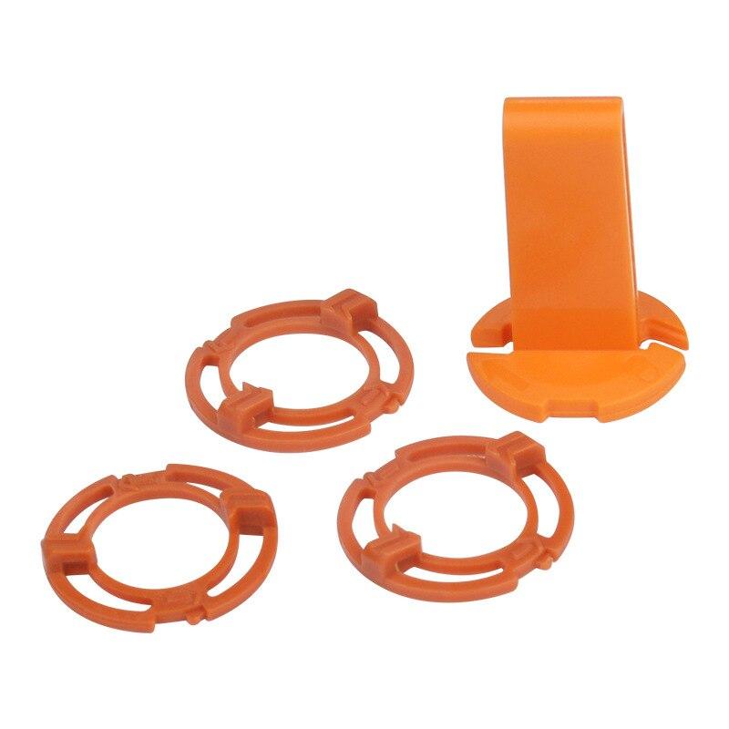 3 pces bloqueio-anel de retenção-suporte da placa + fechamento do quadro para philips sh70 sh90 s9000 rq12 rq1250 s7000 s8000 s9321 s9300 s9531 s9522