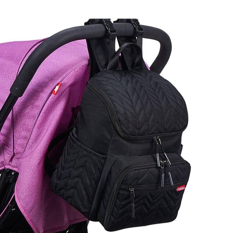 Multifuncational Waterpfoor Baby Diaper Bag Backpack Organizer Bags for Mummy Maternity Baby Bag for Mom Stroller Diaper Bag enlarge