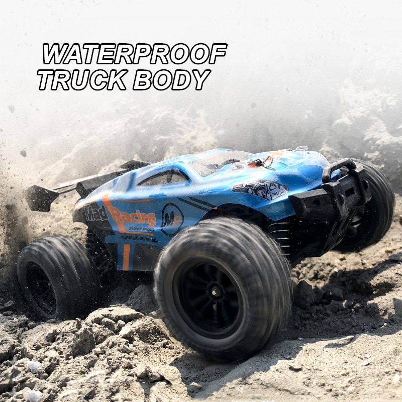 JTY Toys RC Truck 1:18 Bigfoot Monster 4x4 Remote Control Climbing Off-Road Truggy Car Waterproof RC Trucks For Children Adults enlarge
