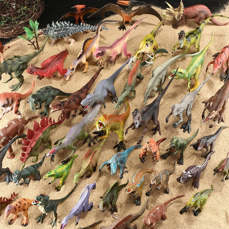 Dinosaur Toys Simulation Tyrannosaurus Rex World Park Jurassic Action Figures Dinosaurs Model Toy For Kids Boy Gifts
