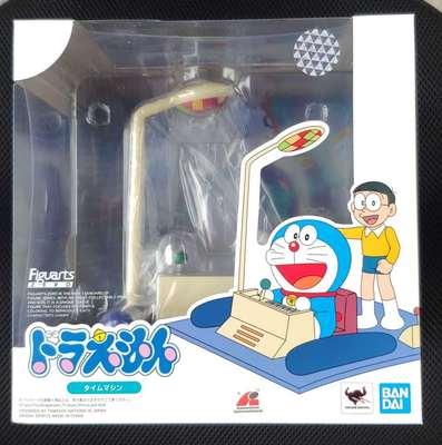 Bandai zéro Animation Doraemon Nobita Nobi vinyle temps Machine figurine à collectionner modèle jouet boîte