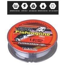 Ligne de pêche en Nylon Fluoro carbone force eau douce fil deau salée accessoire extérieur ligne principale de pêche pour accessoires de pêche