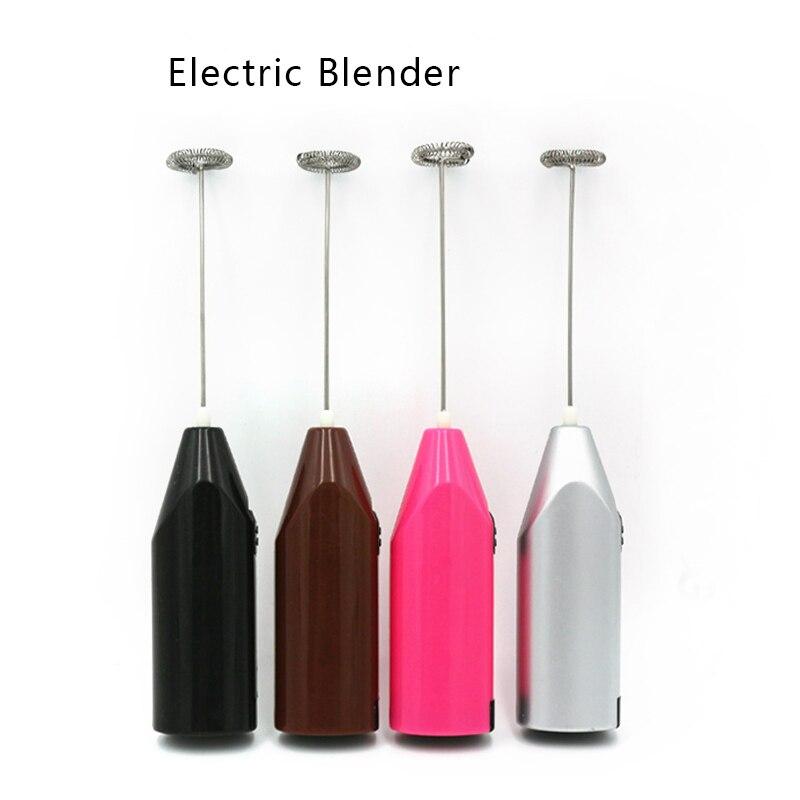 Электрический венчик для молока, кухонный Электрический смеситель для яиц, электрический ручной мини-блендер для кофе, автоматическое вспенивание молока, устройство для перемешивания