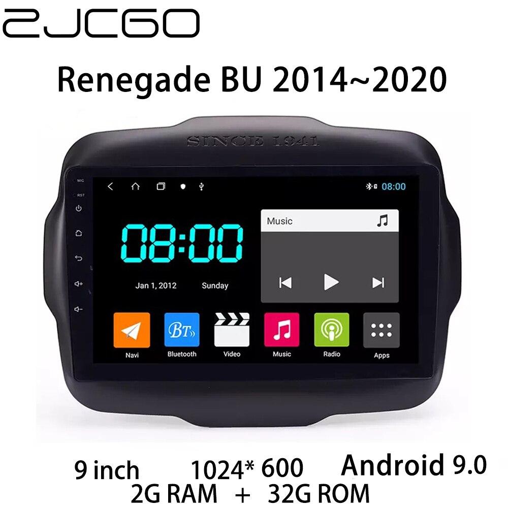 Reproductor Multimedia estéreo para coche, con GPS, Radio navegación, pantalla Android para Jeep renegado BU 2014 2015 2016 2017 2018 2019 2020