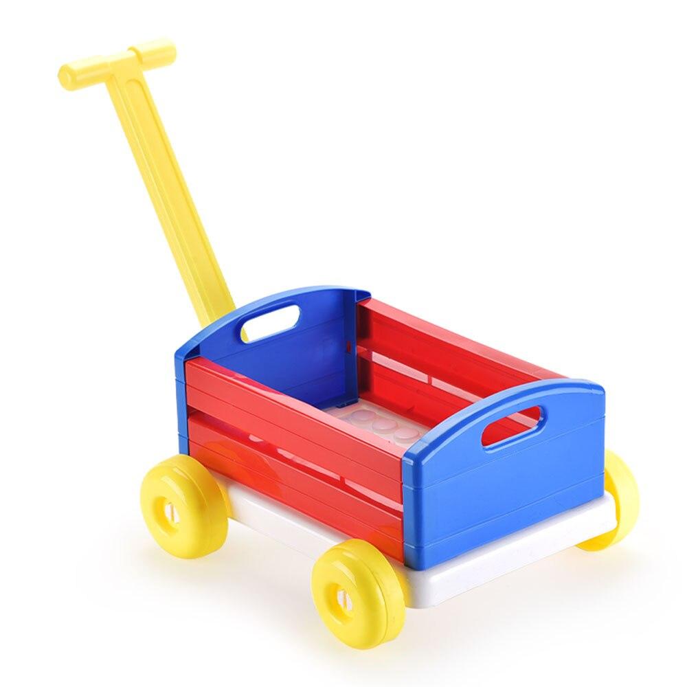 Carrito de bebé para caminar, carrito de compras, organizador para el hogar, cestas de almacenamiento, divertidos juguetes deportivos para coche, regalos de cumpleaños, interior al aire libre