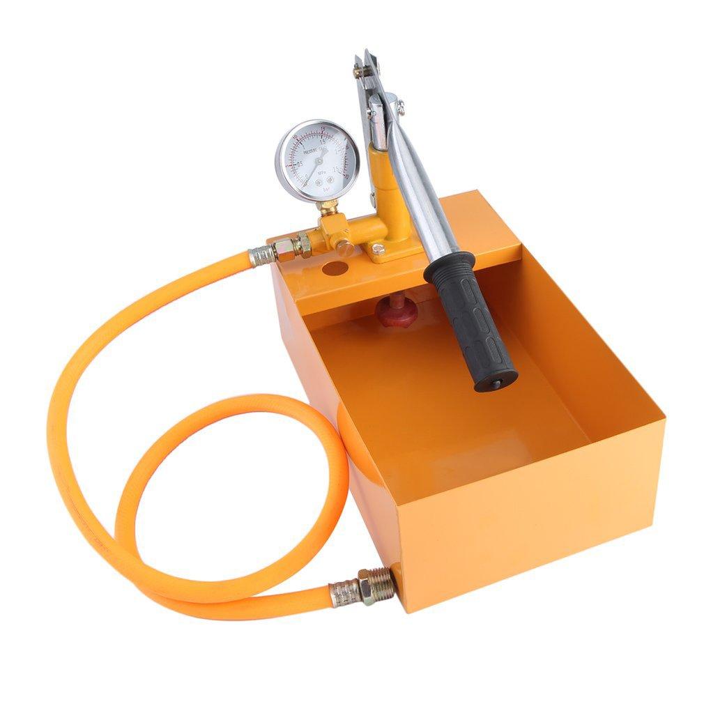 25KG Hand Power Test Pump Universal Water Pipe Leakage Tester Manual Durable Hydraulic Pressure