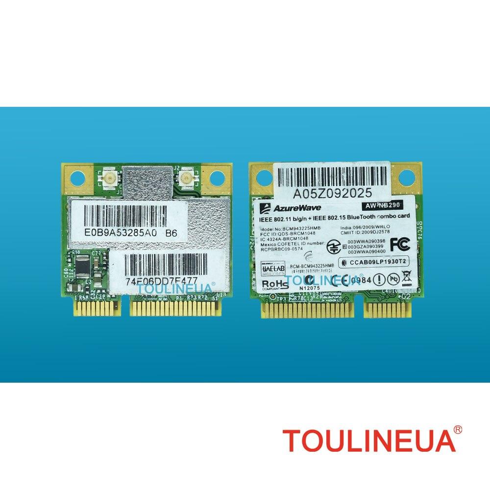 BCM943225HMB 300 M Bluetooth 3.0 BT3.0 300 Mbps WiFi אלחוטי כרטיס רשת