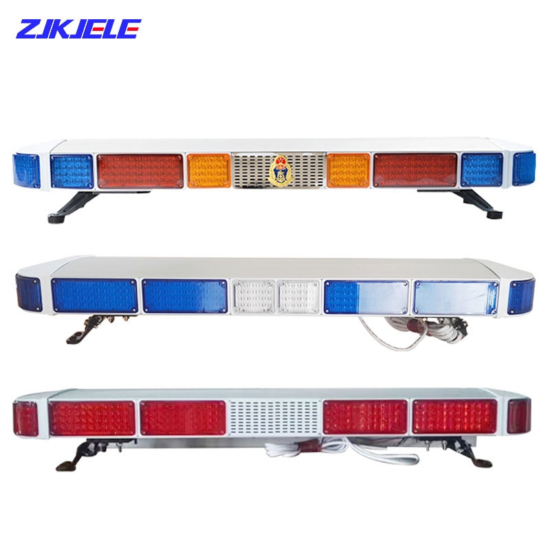 Traffic Warning LEDs Lighter Security System Emergency Warning Lightbar for Ambulance Police Lightbar with 100W Warning Siren enlarge