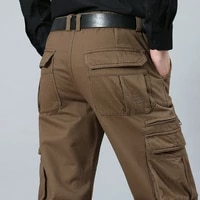 big size 29 44 46 48 cargo pants men straight loose tactical mens pants mens pants military army men trousers swat pants