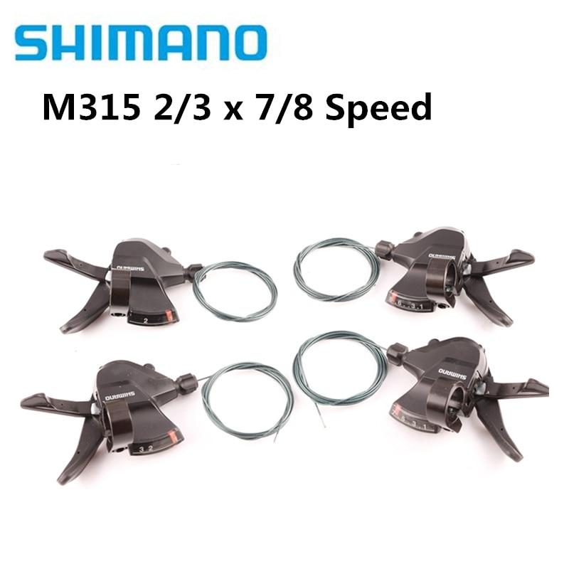 SHIMANO-palanca de cambios Altus SL-M315 M360, 2x7, 2x8, 3x7, 3x8, 14, 16,...
