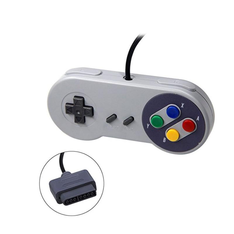 10 teile/los Gamepad 16 Bit Controller für Super Nintendo SNES System Console Control Pad
