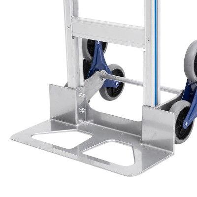 200kg 3 wheels Stair Climbing Hand trolley Stair Climber Portable Climbing Cart Hand Trolley Climb Cart Flat Truck enlarge