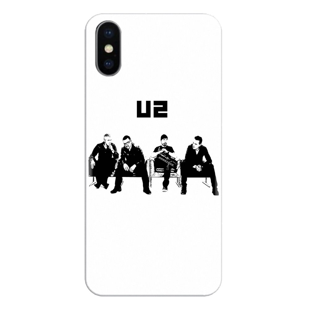 La música rock U2 irlandés logotipo para iPod Touch para Apple iPhone 11 Pro 4 4S 5 5S SE 5C 6 6S 7 7 8 X XR XS Plus Max suave de silicona TPU caso