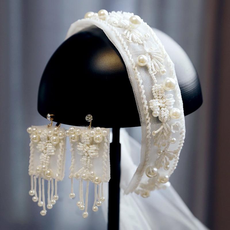Accesorios para el cabello para boda, accesorios para el cabello con pendientes,...