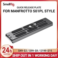 smallrig quick release plate manfrotto 501pl style dslr camera plate 2900