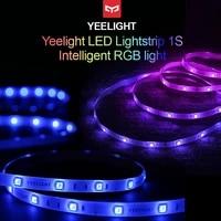 Yeelight     bande lumineuse LED RGB Plus intelligente  coloree  pour decoration de salon  controle par application  fonctionne avec Google Home Alexa