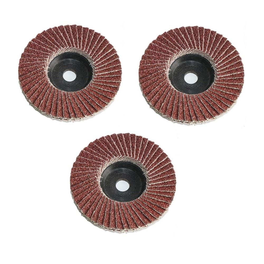 3 шт., шлифовальные диски для угловой шлифовальной машины, 75 мм