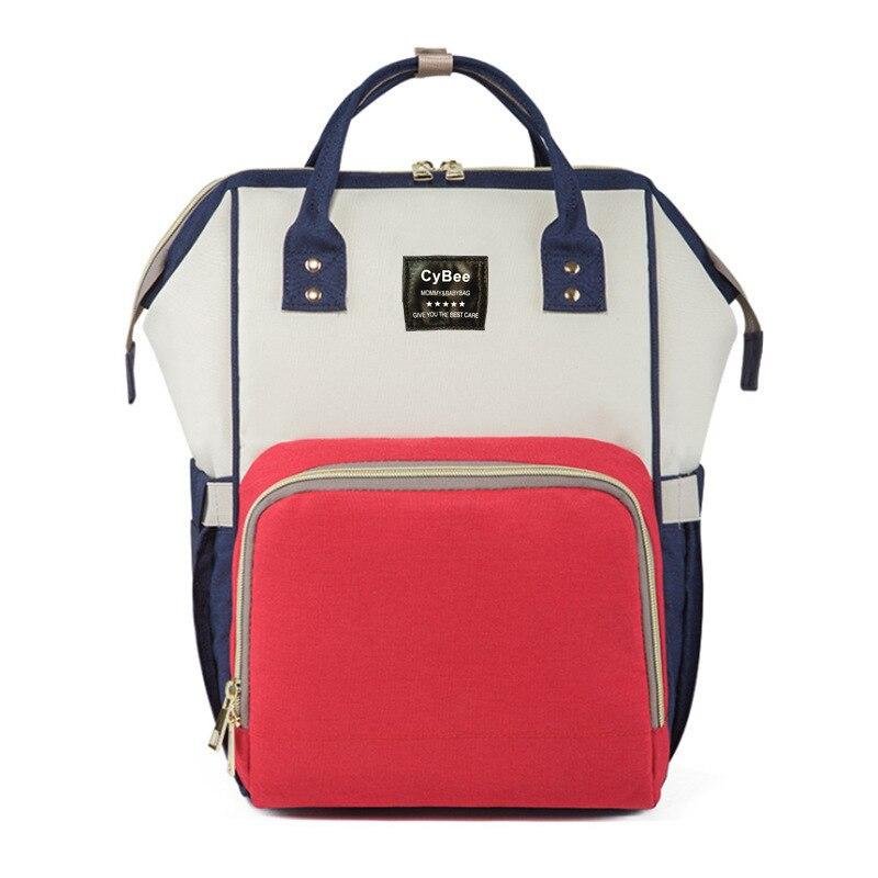Fashion Mummy Maternity Nappy Bag Large Capacity Baby Bag Travel Backpack Designer Nursing Bag for Baby Care