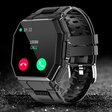 CHOTOG Smart Watch Men Bluetooth Call Music IP67 Waterproof Smartwatch Women Heart Rate Monitor Outd