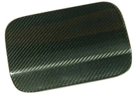 carbon fiber fuel gas tank covers fit for bmw 5 series f10 f18