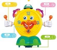 Educational Toys Cartoon Electric Smart Alarm Clock Light Music Jingle Walked Up And Down Swing Eyes Unisex Movie & Tv Robot