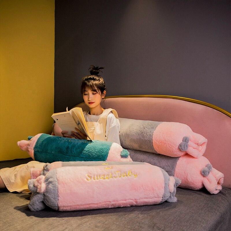 40cm Komfortable Kissen Gewaschen Baumwolle Rosa Gelb Weiß Streifen Kissen Tufted Platz Weichen Tatami Boden Kissen Hause Dekoration