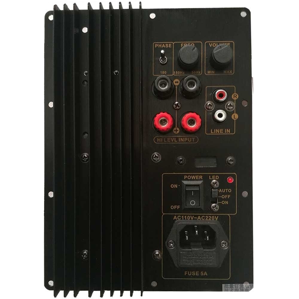 110 فولت ~ 220 فولت 150 واط 200 واط الثقيلة مضخم الصوت مكبر كهربائي رقمي مجلس نشط مكبر كهربائي مجلس النقي باس TDA8950 TDA8954