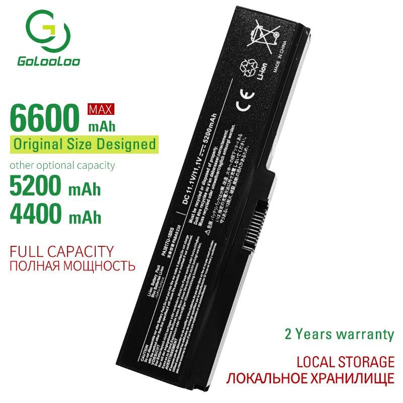 Batería de portátil de 6 celdas gololoo 3817 para Toshiba Dynabook CX/45/47/48/EX/46/56/66 Qosmio T551 T351 Satellite L750 BT4N22 ST4N01