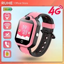 H01  Smart Watch kids 4G GPS WIFI Video Call SOS IP67 Waterproof Child Smartwatch Camera Monitor Tra