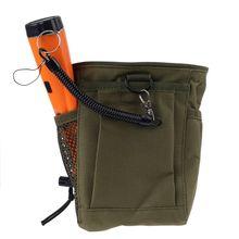 ตรวจจับโลหะกระเป๋า Digger Supply Treasure เอว Luck Recovery พบกระเป๋า Pinpointer พลั่วเครื่องตรวจจับโลหะกระเป๋า