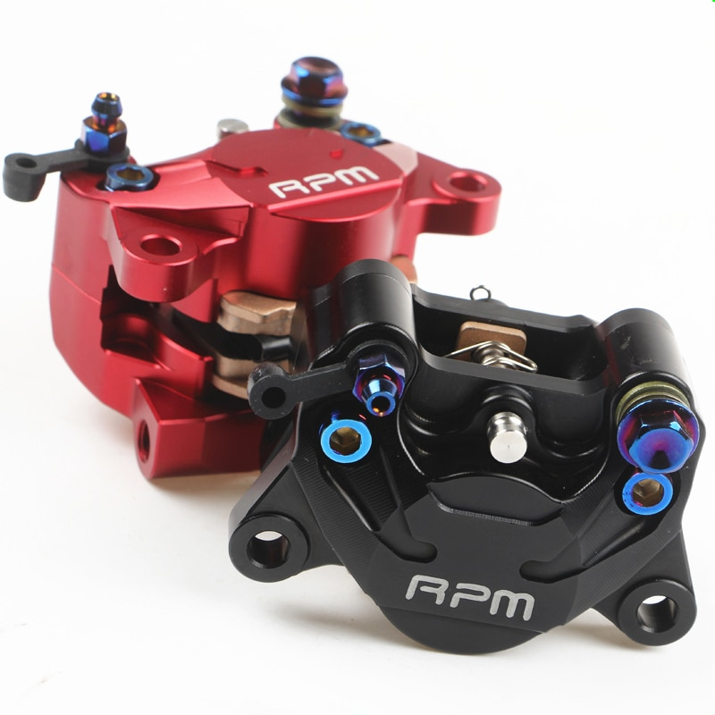 Bomba de freno trasera Universal para motocicleta CNC RPM, pinza de freno para motor, bajo la doble pinza de cangrejo pequeña, pistón de 34mm de potencia