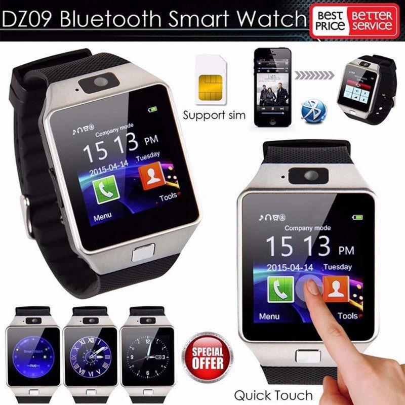 DZ09 Intelligente Orologio Bluetooth 2G GSM SIM Chiamata di Telefono di Sostegno Della Carta di TF Della Macchina Fotografica Orologi Da Polso per il iPhone Samsung HuaWei xiaomi