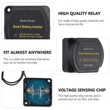Relais sensible à la tension du Kit 12V 140A disolateur de batterie double Durable pour la voiture de RV