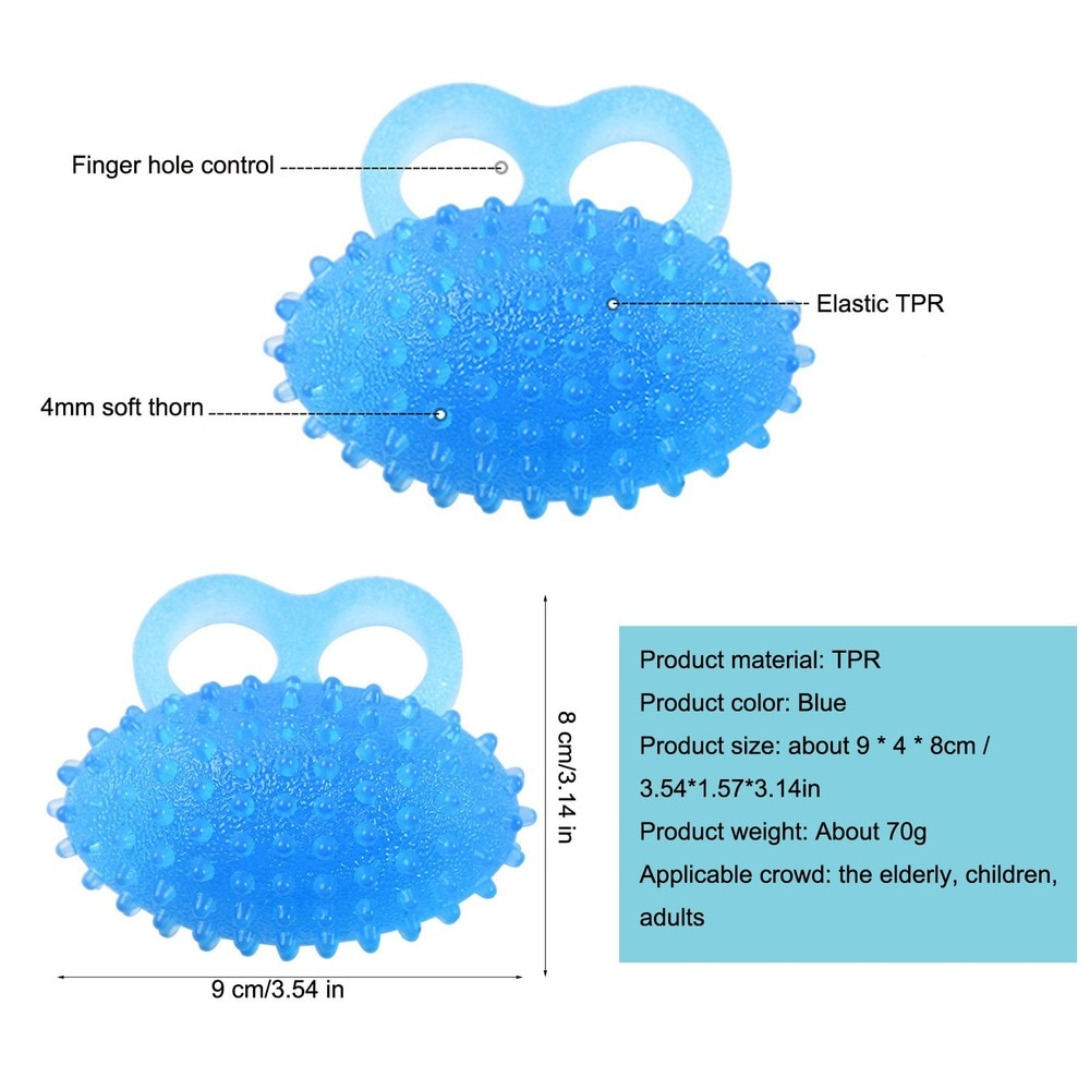 Fidget Toys Squishy Exerciser Grip Ball Adults Hand AntiStress Balls Kids Montessori Toy Figet Decompression Toy enlarge