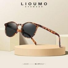 LIOUMO Neue Mode Runde Sonnenbrille Polarisierte Frauen Classic Retro Sonnenbrille Für Männer Fahren Unisex Brillen UV400 lentes de sol