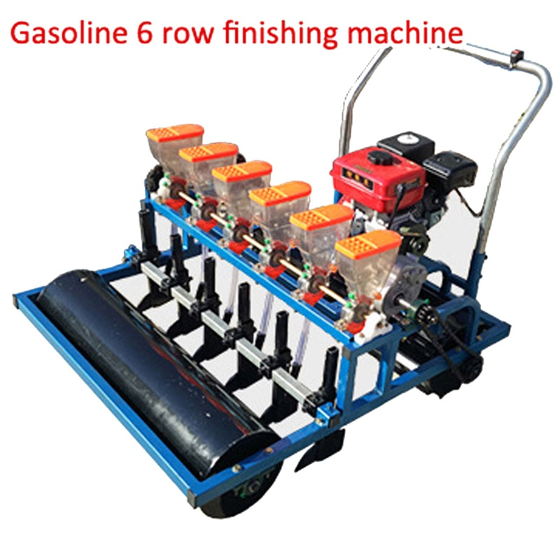 Seeding machine agricultural precision planter new small hand push electric automatic multi-function adjustable 6 row seeder