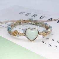 lovers love eternal love bracelet fashion design classic bracelet shaped bracelets hand made by natural stone
