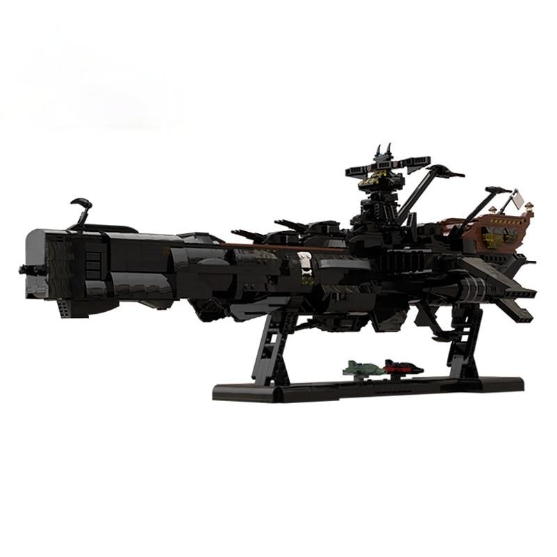 MOC مبنى الالعاب العملاقة للسفينة الحربية الفضائية اركاديا في فيلم