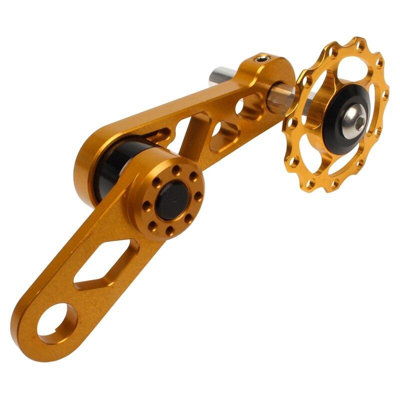 Pièces de rechange de chaîne daccessoires de vélo dalliage daluminium pour le tendeur de chaîne de dérailleur arrière à vitesse unique de vélo vtt S3