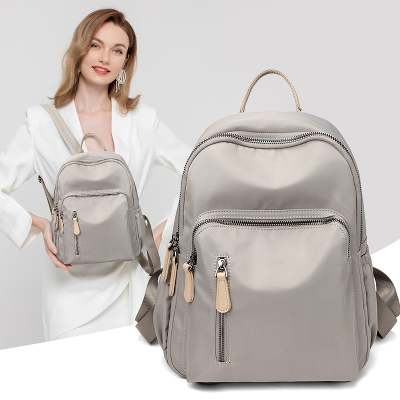 2021 Women Backpack Bag Time Contracted Lightweight Backpacking Anti-theft Female wings school girl  Bags for Women's Small kawa
