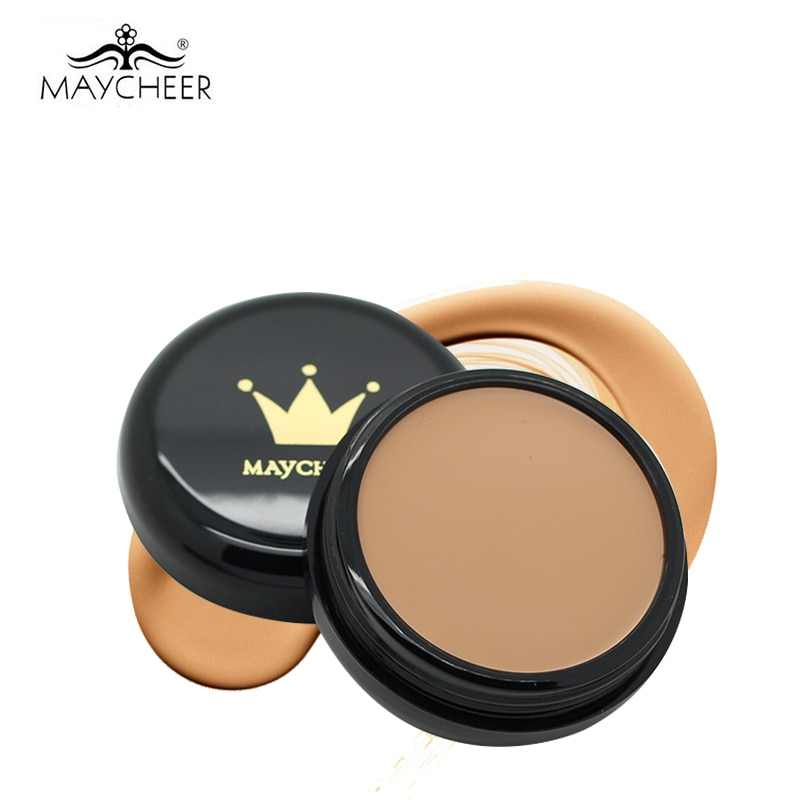 MAYCHEER Makeup Concealer Foundation Cream Camouflage Moisturizing Oil-control Make Up Primer Perfect Cover Contour Palette