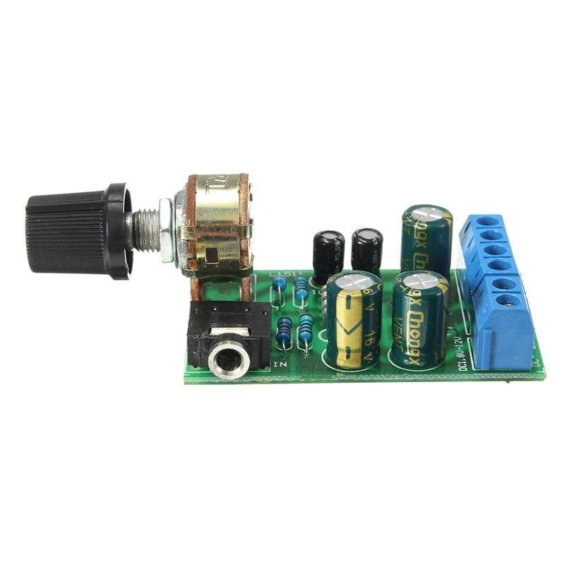 Original DC 1.8-12V TDA2822M 2.0 Stereo Audio Amplifier Board Dual Channel AMP AUX Amplifier Board Module For Arduino tpa3116 audio amplifier board pbtl single dual channel power amplifier dc 12v 24v amp