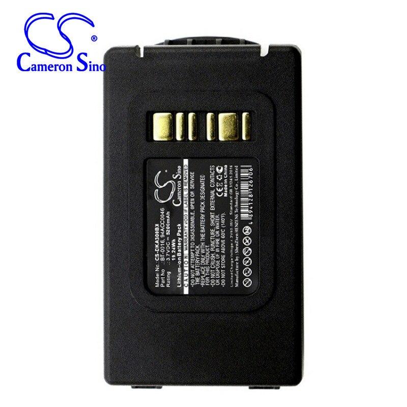 CameronSino para DATALOGIC Skorpio X3 X4 94ACC0046 94ACC0048 BT-0016 batería