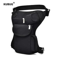 new man riding waist pack canvas waist leg bag outdoor tactical multi functional leg bag casual sports hiking riding running bag