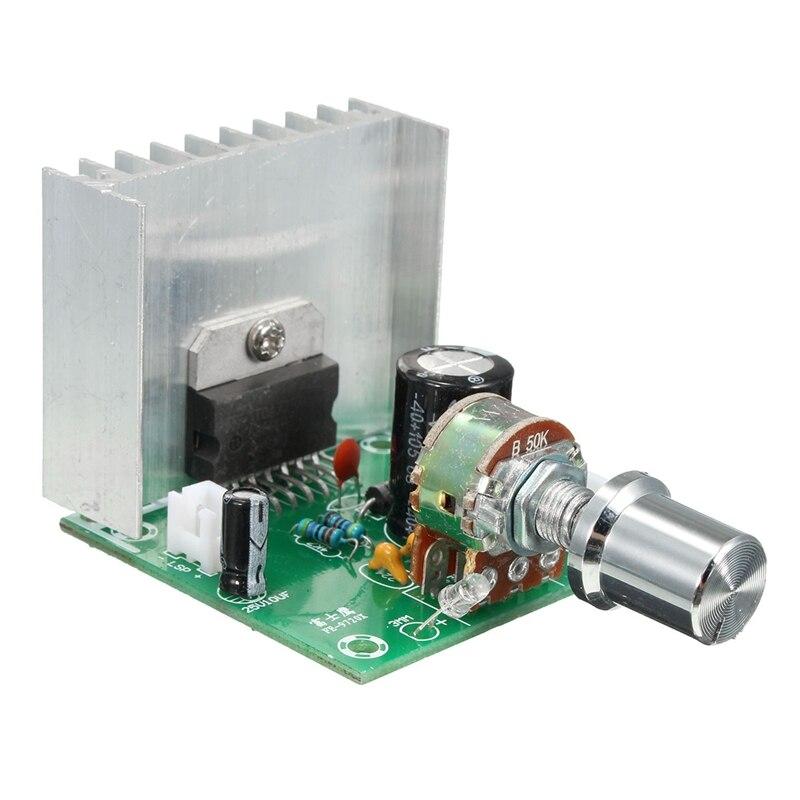 Placa amplificadora de potencia Tda7297 2 sin ruido Ac y Dc 12V placa acabada