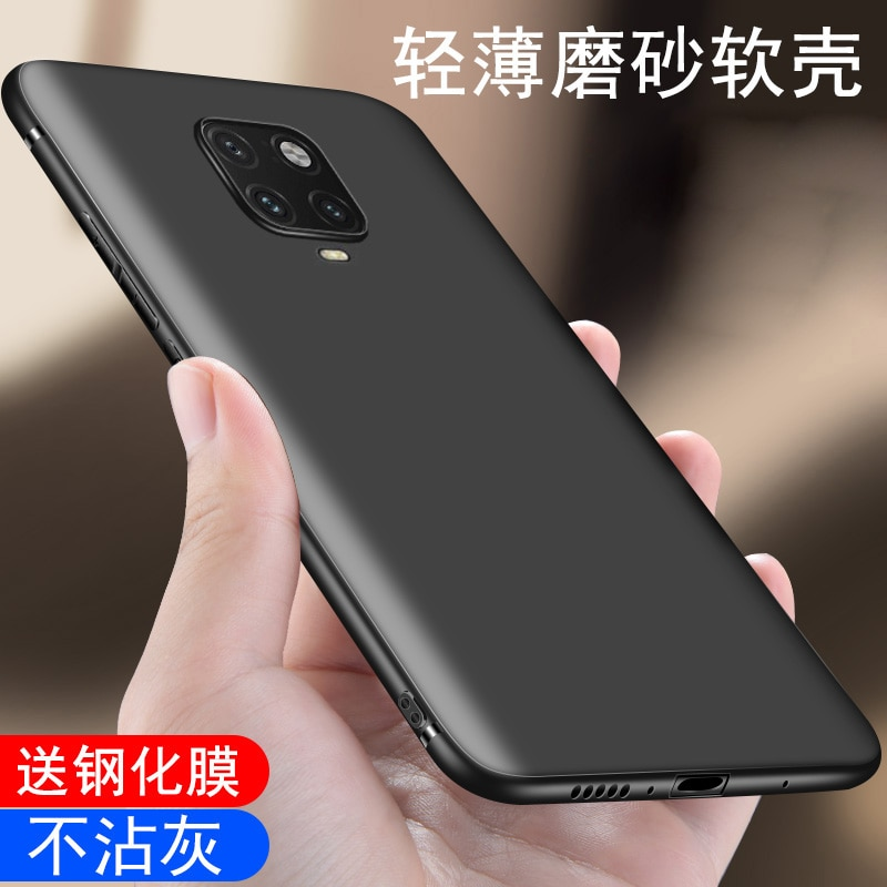 for Xiaomi Redmi Note 9S Soft Case For Xiaomi Redmi 7A 8 8A Matte Soft Silicone Back Cover Phone Cases Xiaomi Redmi Note 9 Pro