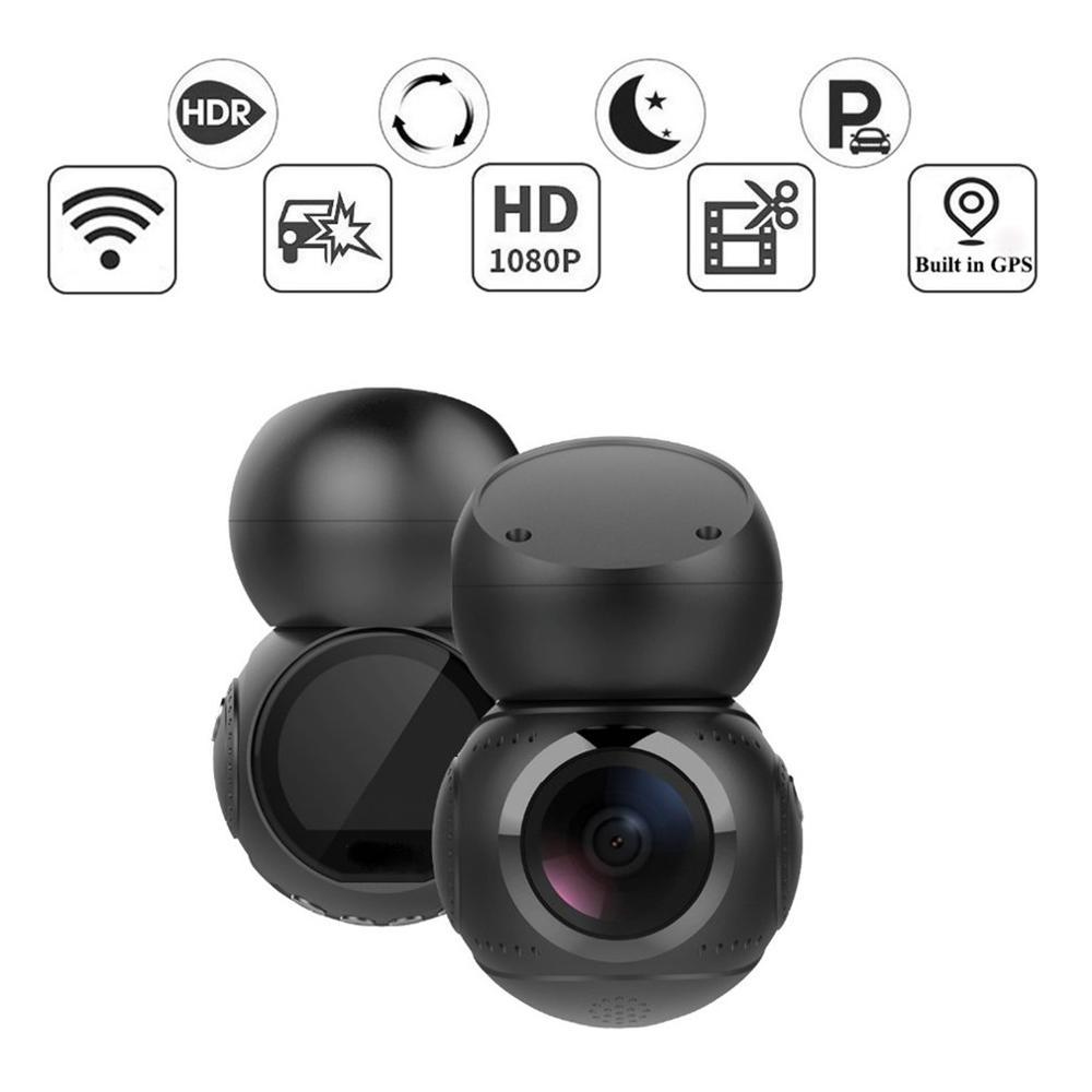 Lente Anytek G21 170 grados 1080P Full HD WiFi coche DVR Dash cámara grabadora de vídeo detección de movimiento GPS coche Cámara