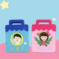 newborn baby cloth books diy early educational toys interactive sensorial development montessori book fabric toddler girls boy